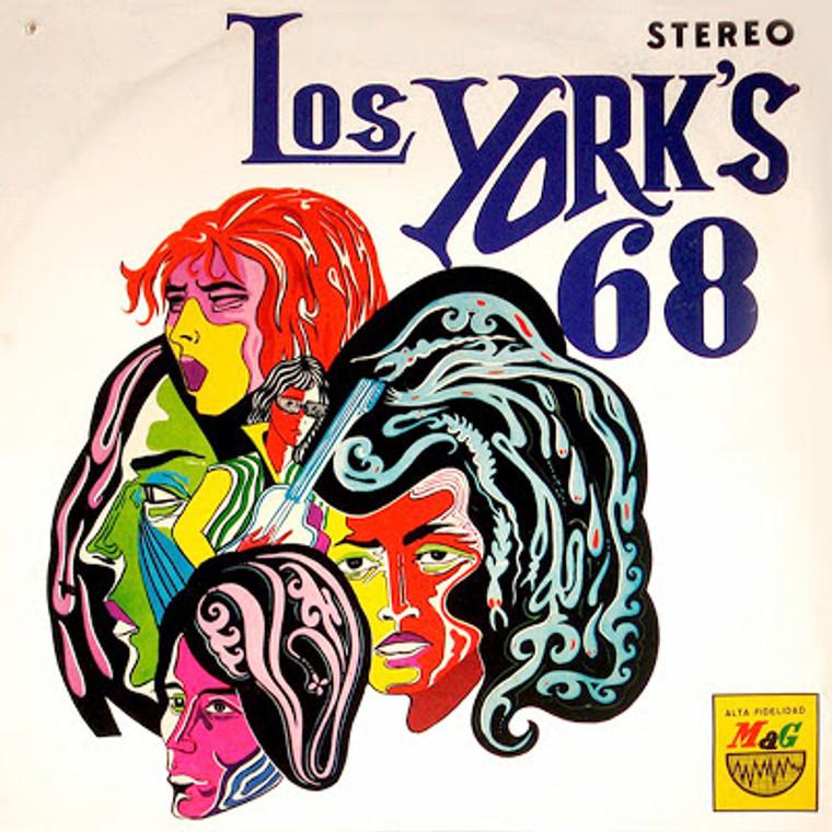 LOS YORKS -68 (great Peruvian garage) CD