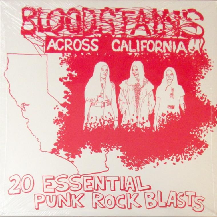 BLOODSTAINS ACROSS CALIFORNIA   - VA  (rare KDB punk reissue) COMP CD