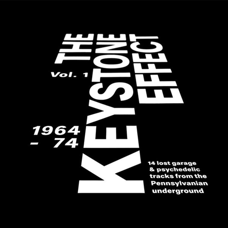KEYSTONE EFFECT VOL1:1964-74  LOST GARAGE & PSYCH FROM THE PENNSYLVANIAN UNDERGROUND-  COMP LP