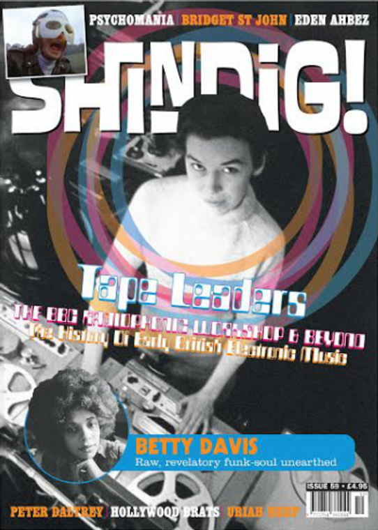 SHINDIG!  -#59 TAPE LEADERS-  BOOKS & MAGS