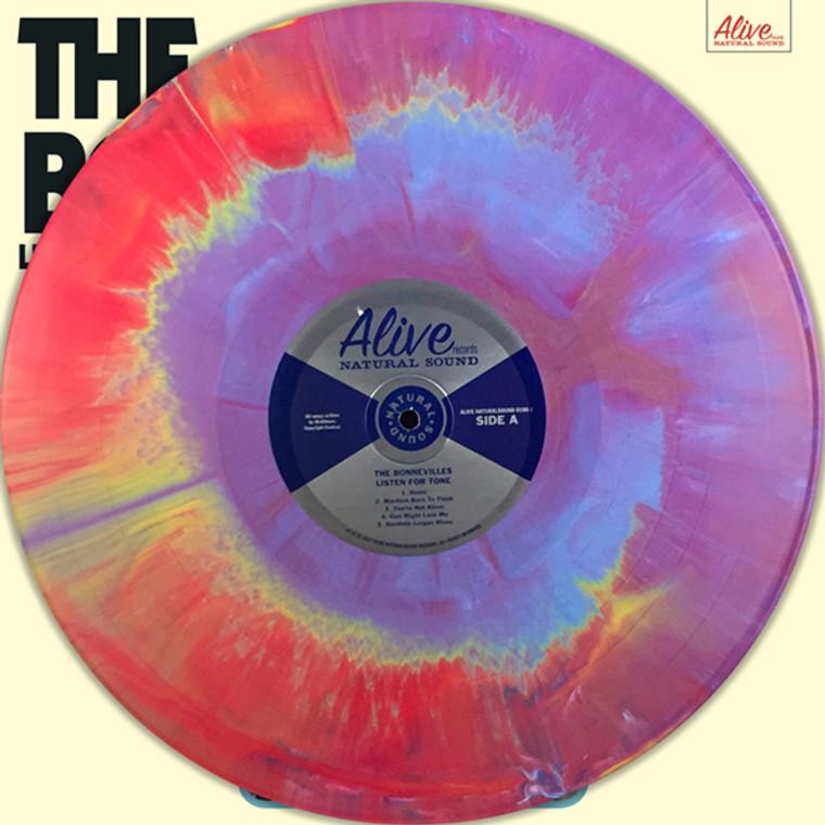 BONNEVILLES  -Listen For Tone (Left Lane Cruiser, early Black Keys, James Leg style) STARBURST VINYL LTD ED OF 150