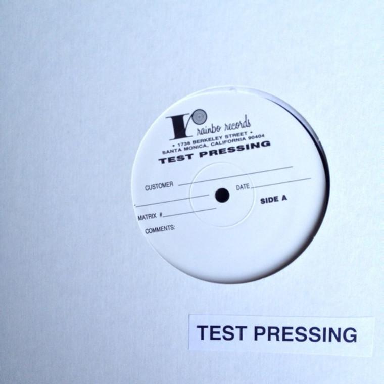 PEBBLES  Vol. 17  - RARE 1985  TEST PRESSING -60s GARAGE PSYCH RARITIES - COMP LP