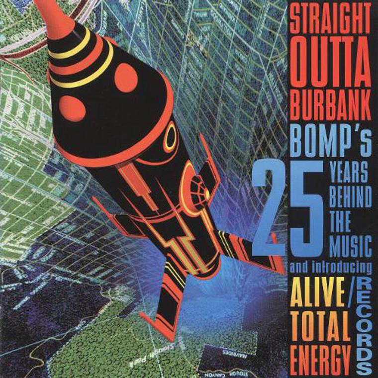 STRAIGHT OUTTA BURBANK -Unrel tracks by STooges, BJM,ZEROS, DEAD BOYS !  LAST FEW COPIES!   DOUBLE CD