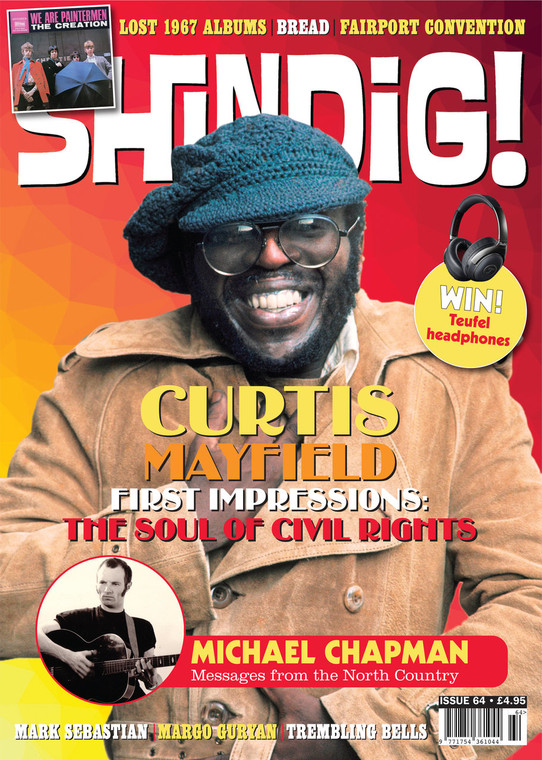 SHINDIG!  -#64 Curtis Mayfield   BOOKS & MAGS