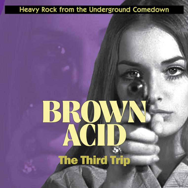BROWN ACID  - THE THIRD TRIP (60S PSYCH RARITIES) COMP CD