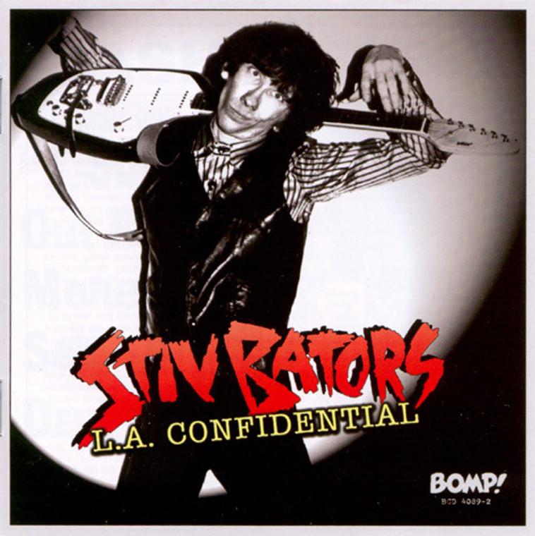 BATORS, STIV  - L.A. Confidential (70s POWERPOP) CLASSIC BLACK VINYL  LP