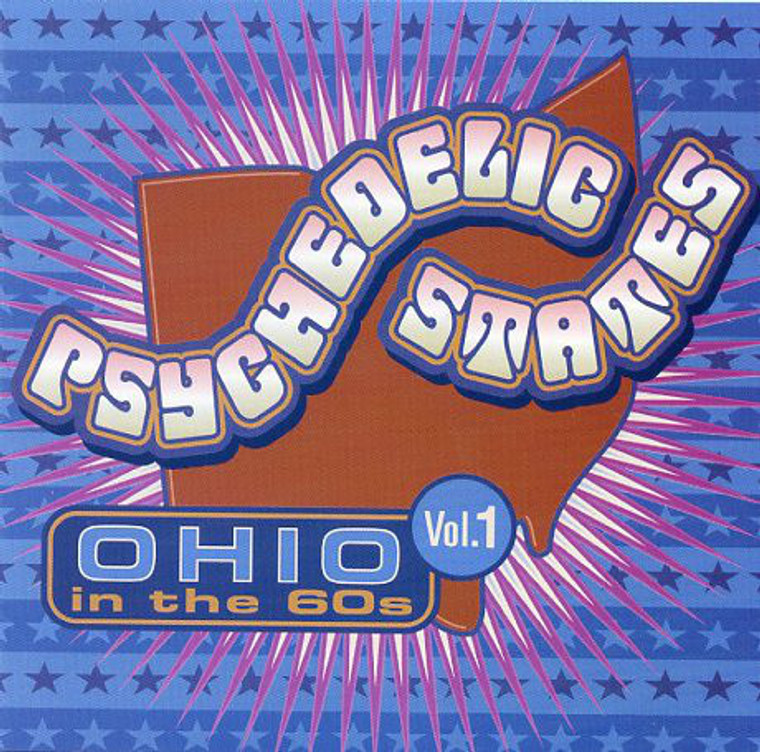 PSYCHEDELIC STATES  - OHIO In The 60's VOL 1-  COMP CD