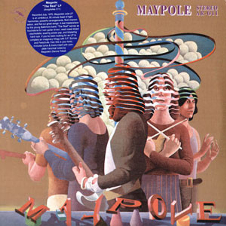MAYPOLE- The Real (LOST USA PSYCH CLASSIC 1970) CD