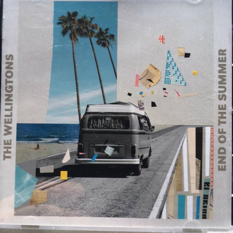 WELLINGTONS  -End of the Summer (POWERPOP)  CD