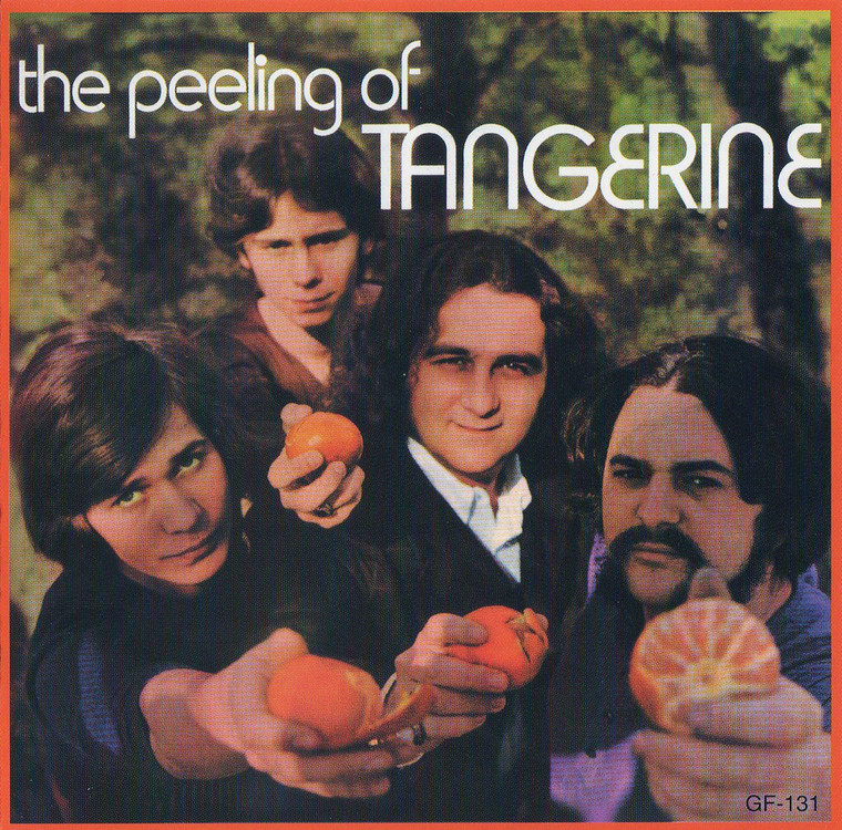 TANGERINE   - Peeling Of (Ultra-rare 71 psych) CD