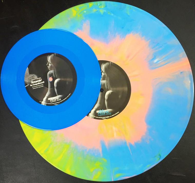 """GOSPELBEACH - ANOTHER SUMMER OF LOVE - STARBURST LP  & COLOR VINYL 7""""  LAST COPIES!"""