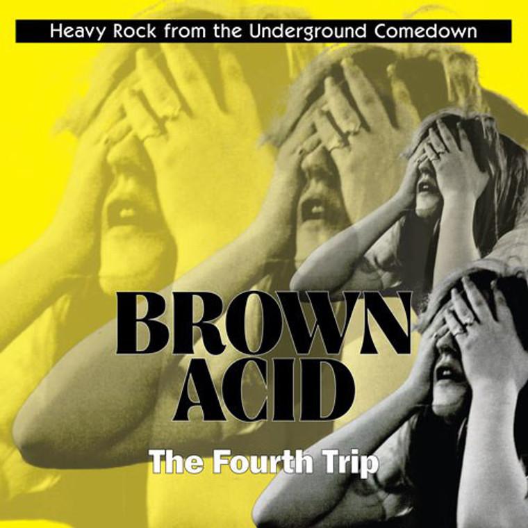 BROWN ACID  - THE FOURTH TRIP (60S PSYCH RARITIES) CLEAR  VINYL  COMP LP