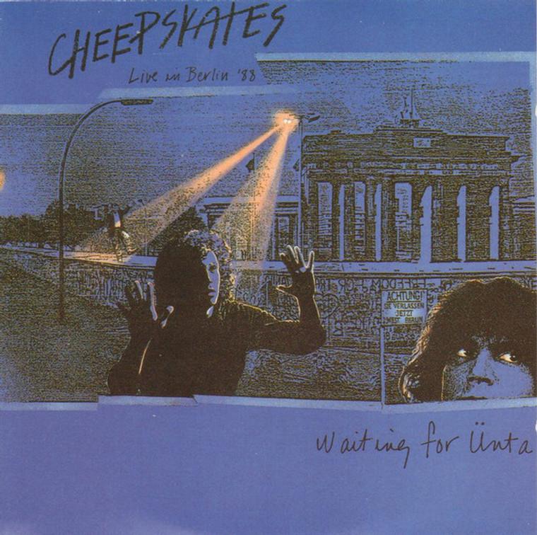 CHEEPSKATES- Live in Berlin (power pop) CD