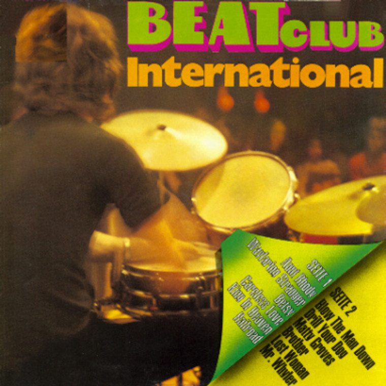 BLUES ROCK FESTIVAL /BEAT CLUB INTERNATIONAL  (1970s blues psych)   CD