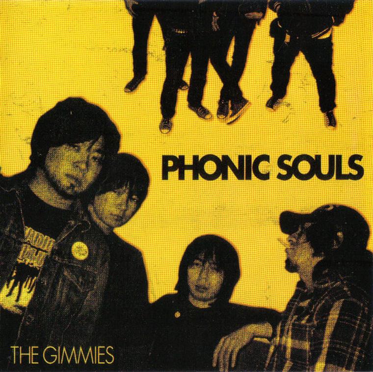 GIMMIES - Phonic SOuls- JAPANESE GARAGE STOOGES/MC5 style garage)CD