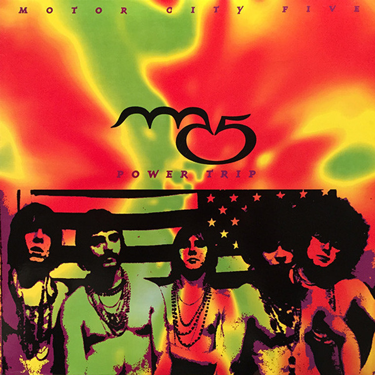 "MC5  - Powertrip - LAST COPIES 10""  LP"