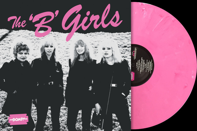 B GIRLS  - BAD not EVIL -AUTOGRAPHED DELUXE BUNDLE ON HOT PINK  VINYL  W  INSERT &  POSTER