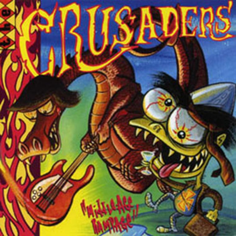 "CRUSADERS  -Middle Age Rampage (AUSSIE GARAGE PUNK) 10""  LP"