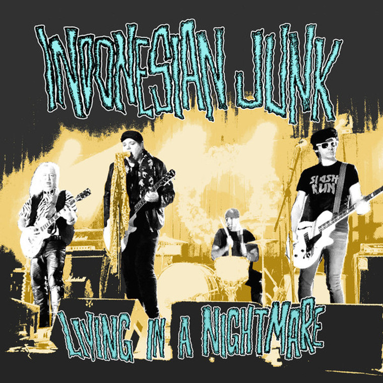 INDONESIAN JUNK - LIVING IN A NIGHTMARE (Dead Boys/Cheap Trick/ BOmp style!)  CD