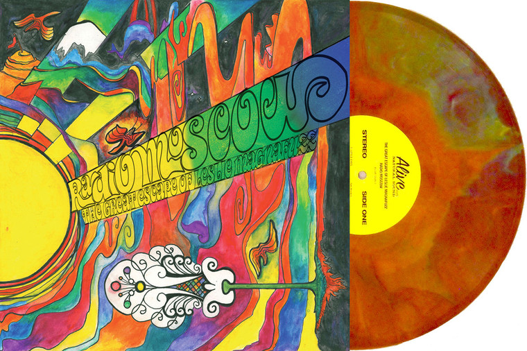 RADIO MOSCOW - The Great Escape Of Leslie Magnafuzz- on  MIND BLOWING PSYCH STARBURST VINYL !   LP
