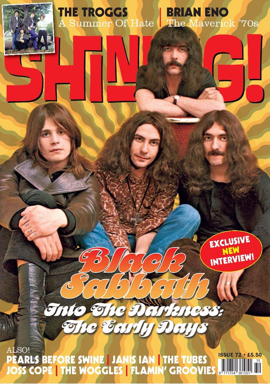 SHINDIG!  -#72 ONE ONLY! BLACK SABBATH - BOOKS & MAGS