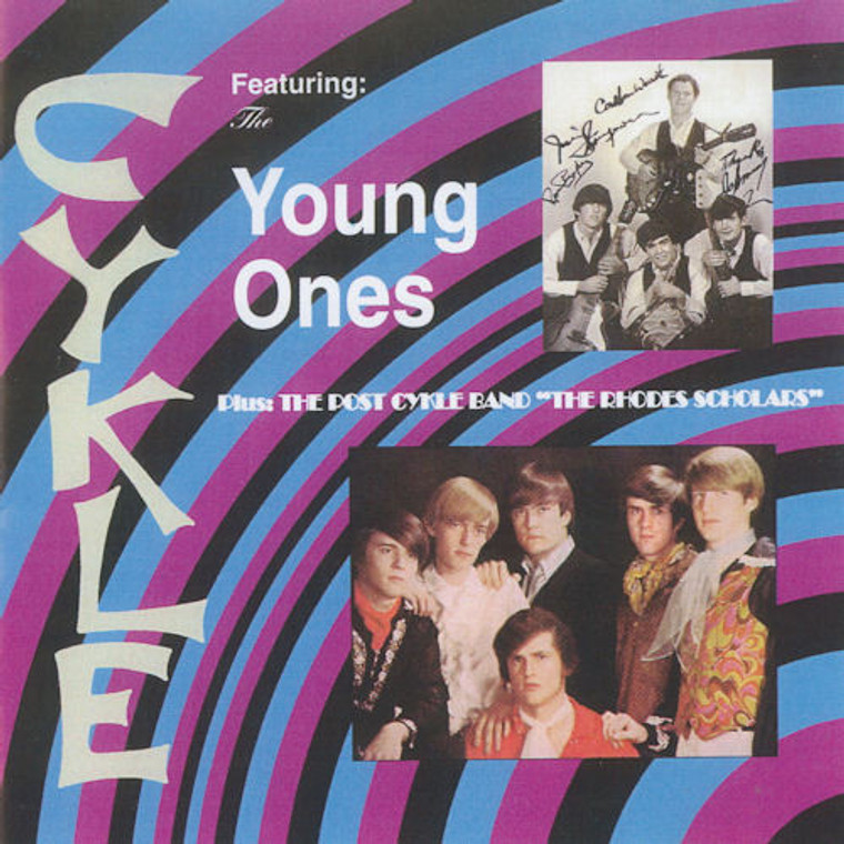 CYKLE -Featuring the Young Ones  (1969 psych from North Carolina) CD