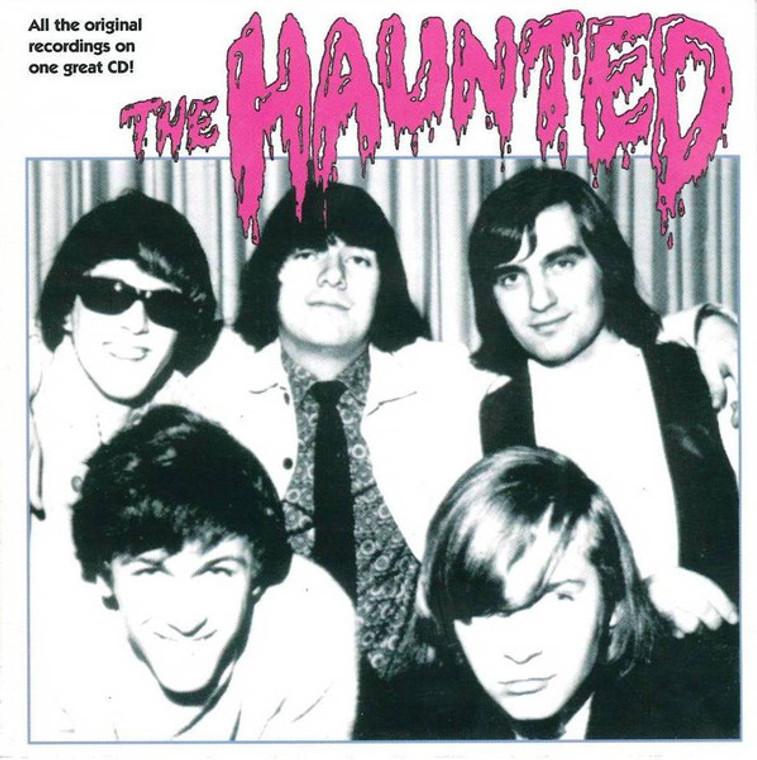 HAUNTED - ST  (Canadian 60s garage)2 LPS on one CD!