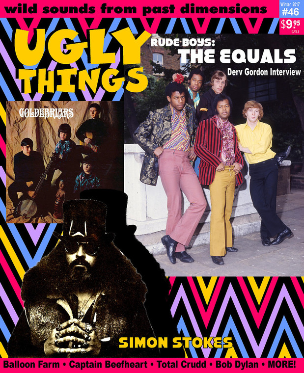 UGLY THINGS  - #46 THE EQUALS-  BOOKS & MAGS