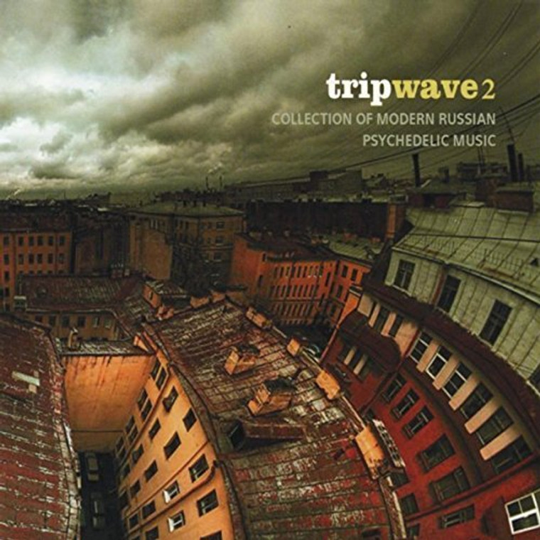 TRIPWAVE VOL 2  (COLLECTION OF MODERN RUSSIAN PSYCH) COMPCD