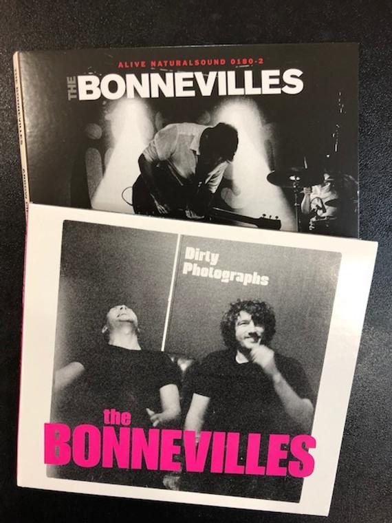 BONNEVILLES - BOTH CDS  BUNDLE!  DIRTY PHOTOGRAPHS &  ARROW PIERCE MY HEART