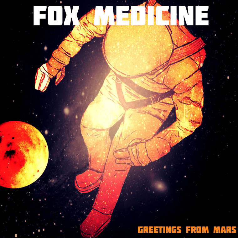 FOX MEDICINE -GREETINGS FROM MARS -SALE! (bubble gum glitter fuzz) CD