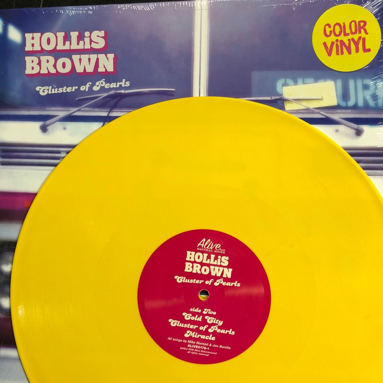 HOLLIS BROWN   -CLUSTER OF PEARLS(akin to blues-based Southern rock &pure British Invasion-influenced pop)LEMON VINYL   LP