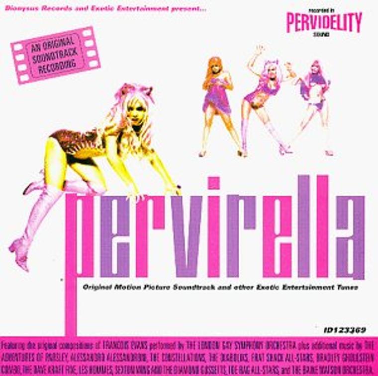 PERVIRELLA - VA MOVIE SOUNDTRACK (stars from the British Trash scene)-  COMP CD