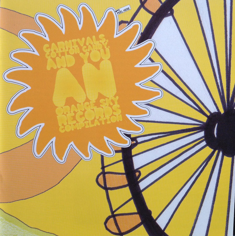 CARNIVALS, COTTON CANDY AND YOU  - VA (U.S. garage, psych, pop)  COMP CD