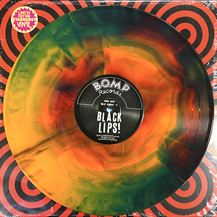 BLACK LIPS  - ST(Stripped down and dirty punk rock and roll) 50 ONLY! LTD ED STARBURST LP