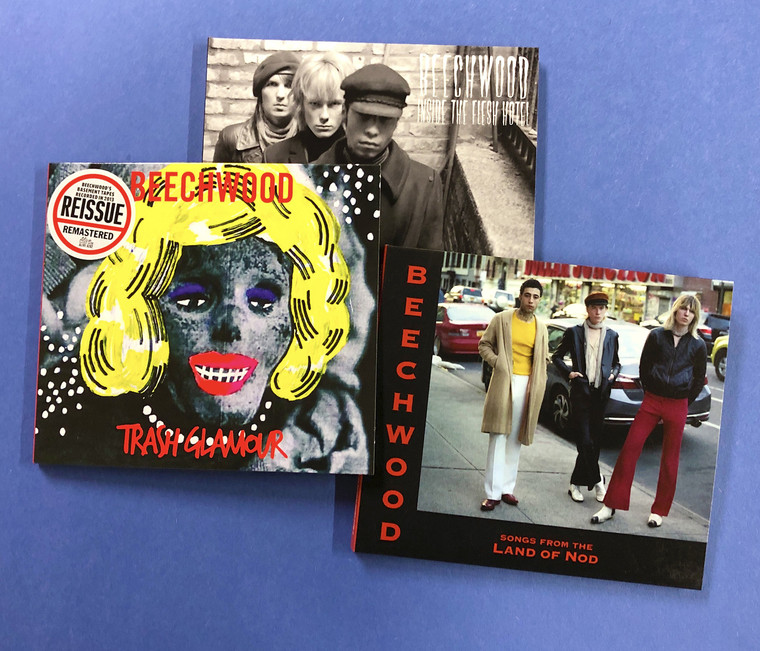BEECHWOOD  - BUNDLE- ALL 3  CDS (Nuggets style true psych R&R- Henry ROllins fave! )