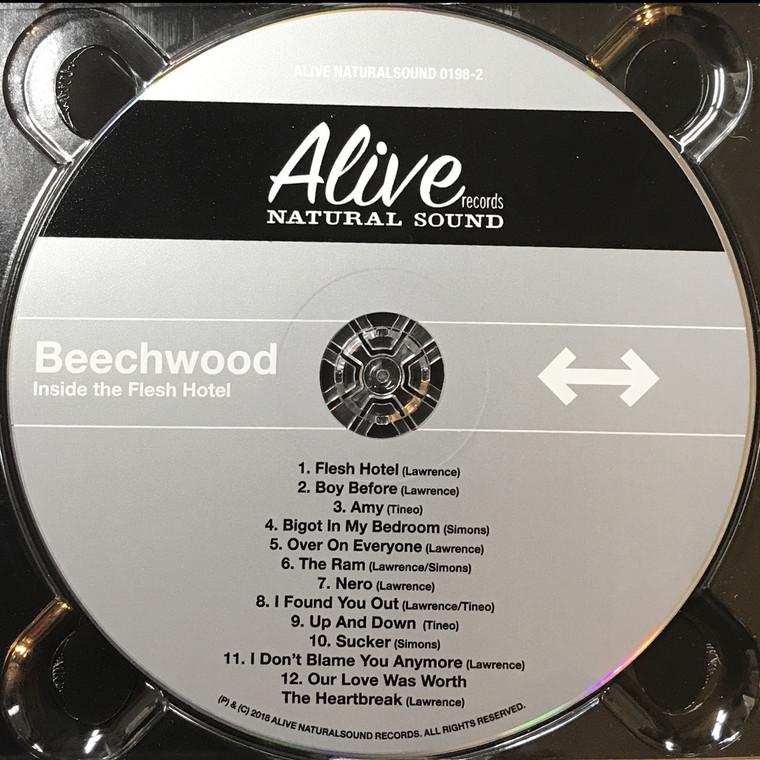 BEECHWOOD  - Inside the Flesh Hotel digipack CD