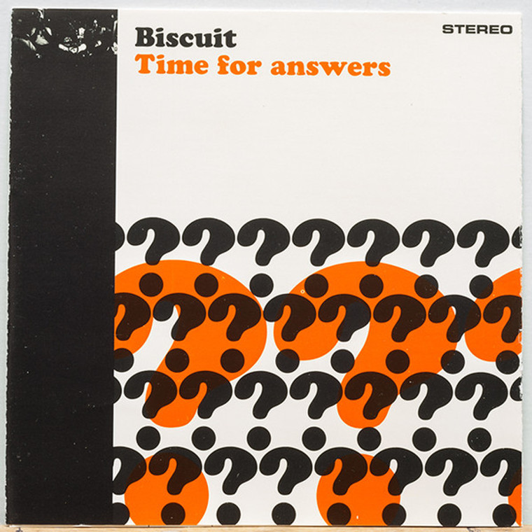 BISCUIT -TIME FOR ANSWERS (60s style psych freakbeat)  LP