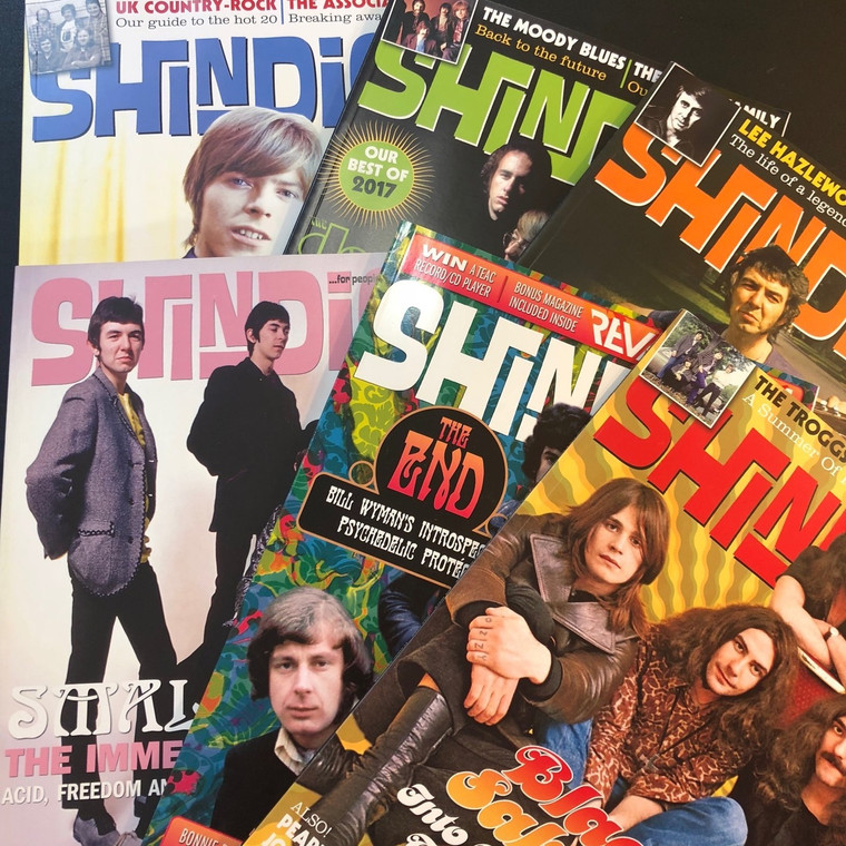 SHINDIG BUNDLE  -Pick any 3 issues for $30 - BOOKS & MAGS