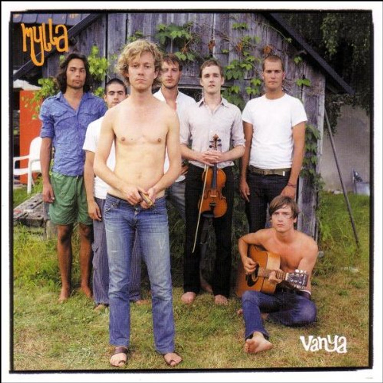 MYLLA   -VANJA (ultimate psychedelic party-band 70s sytle ) CD
