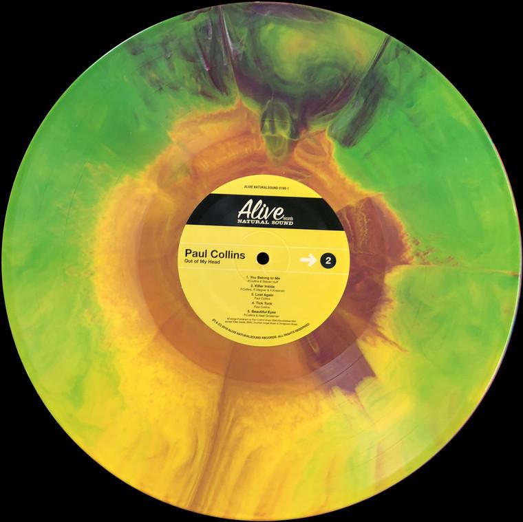 COLLINS, PAUL  - Out of My Head (POWERPOP former NERVES member)  LtD ED  STARBURST  LP