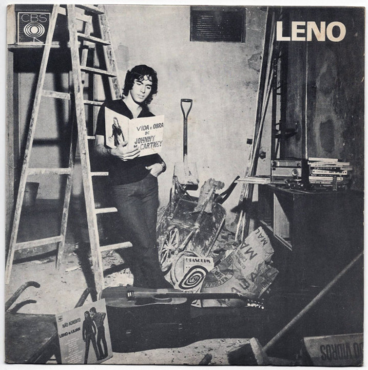 LENO   -Vida e Obra de Johnny McCartney (1971 Brazilian  Cream/ STeppenwolf style   CD