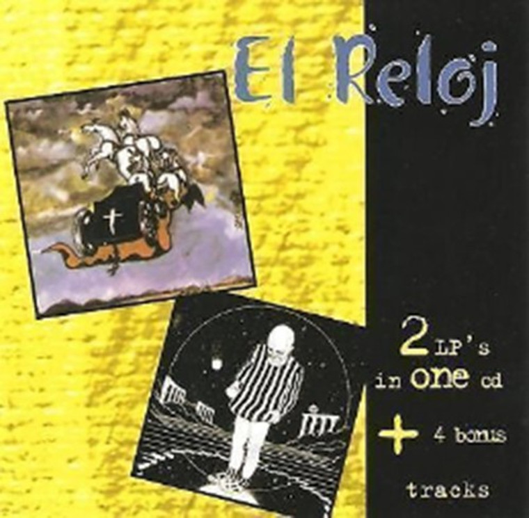 EL RELOJ  - 2 LPs on ONE CD plus bonus tracks  (70s  Argentina premiere hard rock )  SALE~! CD