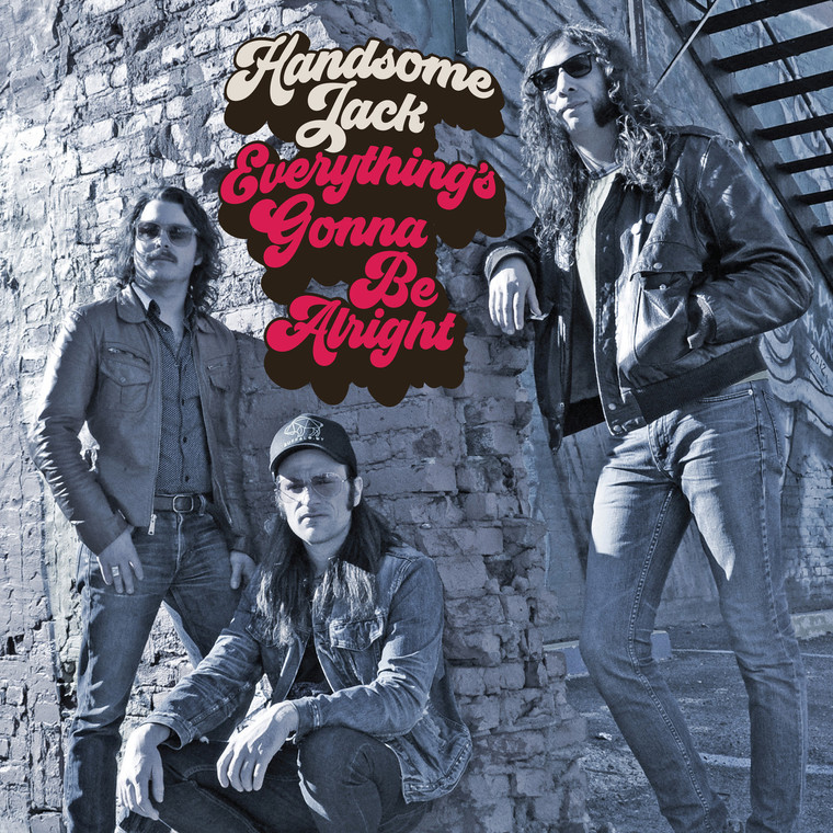 HANDSOME JACK  -Everything's Gonna Be Alright  -CLASSIC  BLACK VINYL LP