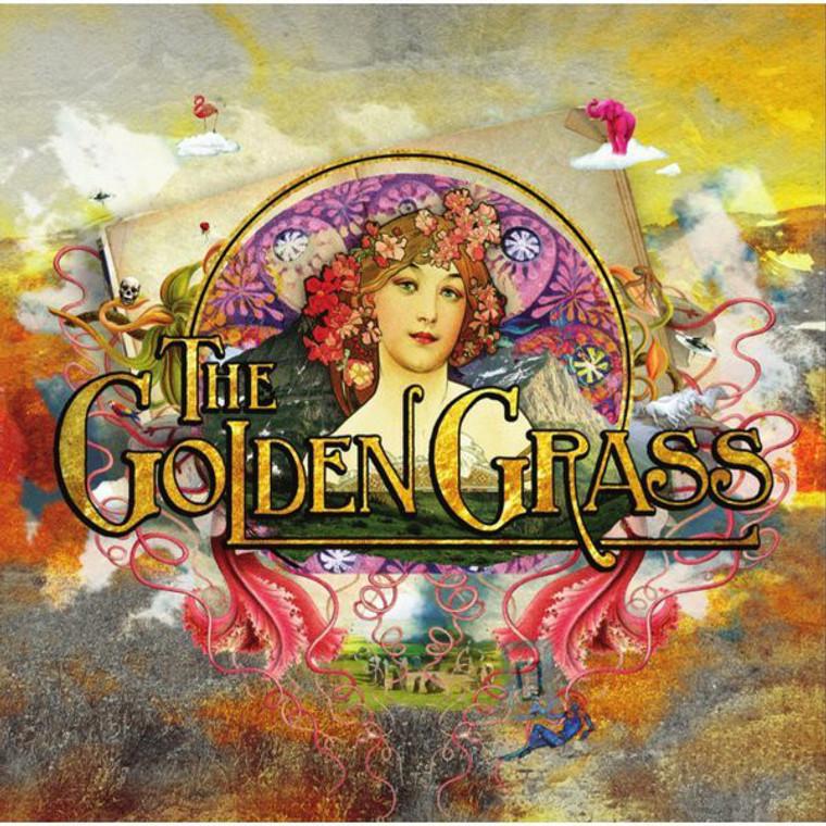 GOLDEN GRASS- ST  (70s style power trio) CD