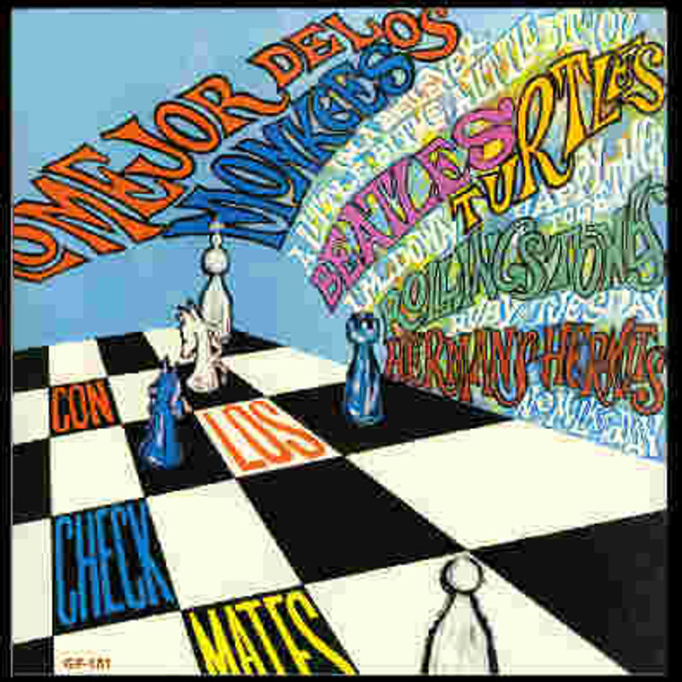 LOS CHECKMATES - With The (1967 S American Beatles, Stones,Monkees covers)   CD