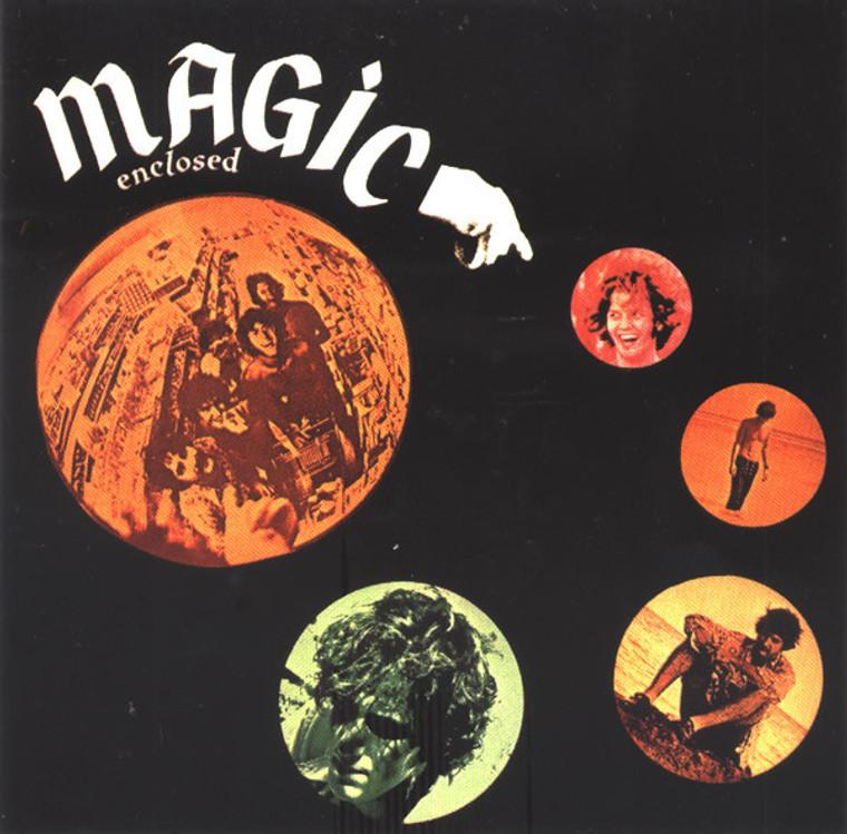 MAGIC- Enclosed -RARE GUITAR ACID PSYCH 60s ) CD