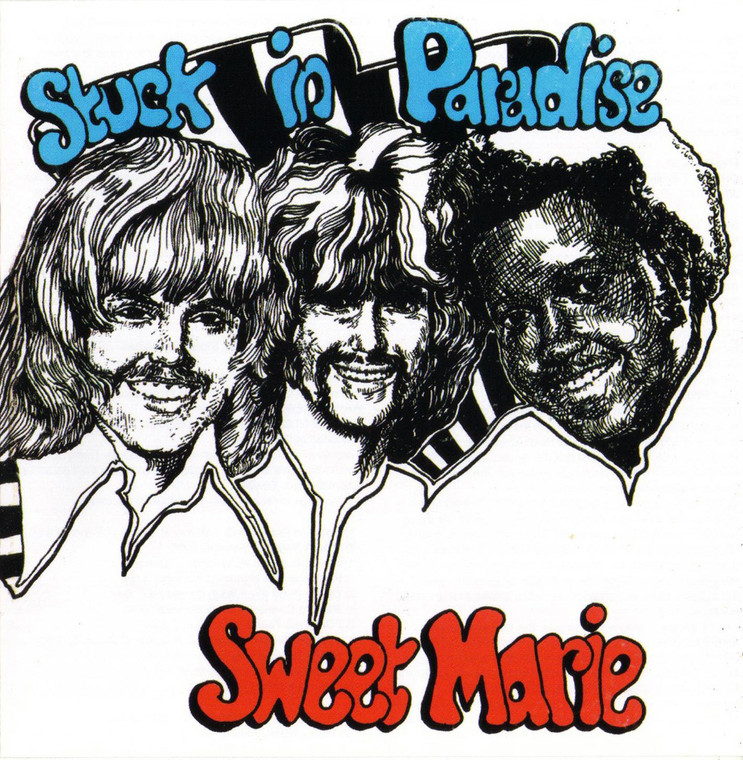 SWEET MARIE   - Stuck in Paradise (1971 hard edged fuzz guitar)   CD
