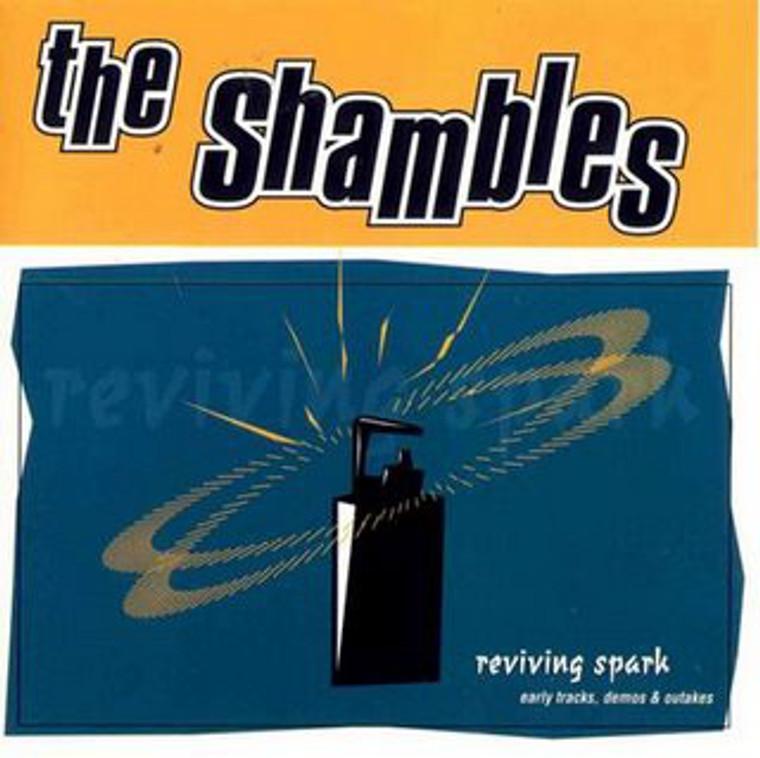 SHAMBLES -REviving Spark (1996 Mod power Pop) CD