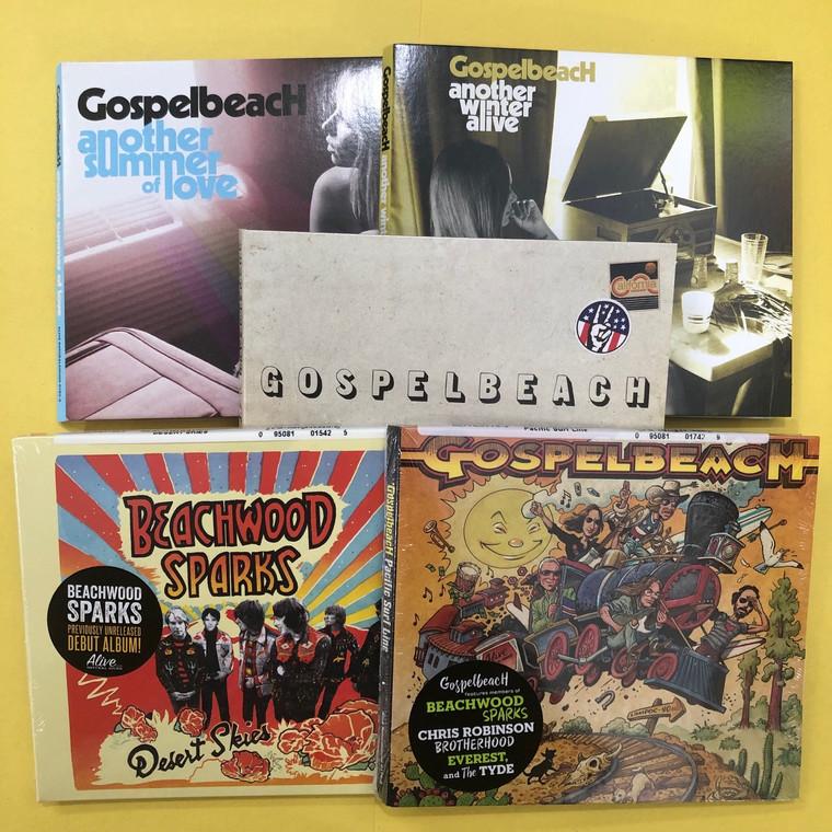 GOSPELBEACH/BEACHWOOD SPARKS- 5 CD SUPER BUNDLE !